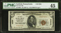 National Bank Notes:Pennsylvania, Fairfield, PA - $5 1929 Ty. 1 The First NB Ch. # 9256. ...