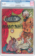 Golden Age (1938-1955):Classics Illustrated, Classic Comics #8 Arabian Nights - First Edition (Gilberton, 1943)CGC FN 6.0 Cream to off-white pages....