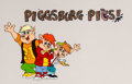 Animation Art:Presentation Cel, Piggsburg Pigs! Publicity Cel (Ruby-Spears, 1990)....