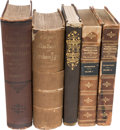 Books:Americana & American History, Abraham Lincoln: Five Books.... (Total: 5 Items)