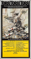 "Movie Posters:War, Tora! Tora! Tora! (20th Century Fox, 1970). Three Sheet (41"" X78""). War.. ..."
