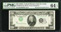 Error Notes:Inverted Third Printings, Fr. 2060-H $20 1950A Federal Reserve Note. PMG Choice Uncirculated64 EPQ.. ...