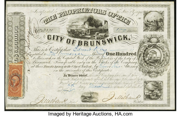 city of brunswick ga