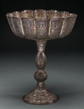 Judaica:History and Culture, MODERN JUDAICA. Persia. Early-mid 20th Century. Large standingsilver-plated bowl....