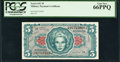 Military Payment Certificates:Series 641, Series 641 $5 PCGS Gem New 66PPQ.. ...