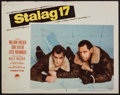 """Movie Posters:War, Stalag 17 & Others Lot (Paramount, 1953). Lobby Card (11"""" X14""""), One Sheets (5) (27"""" X 41"""" & 27"""" X 40), & UncutPressbook (... (Total: 7 Items)"""