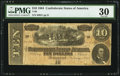 Confederate Notes:1864 Issues, T68 $10 1864 PF-6 Cr. 542.. ...