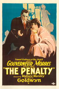 "The Penalty (Goldwyn, 1920). One Sheet (27"" X 41"")"