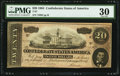 """Confederate Notes:1864 Issues, """"Representing Nothing on God's Earth Now"""" The Confederate Note Poem T67 $20 1864 PF-6 Cr. 507.. ..."""
