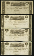 Obsoletes By State:Ohio, Cincinnati, OH- (J.H. Piatt & Co.) $1; $2; $3; $5 18__Remainders... (Total: 4 notes)