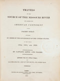 Books:Travels & Voyages, Meriwether Lewis, and William Clark. Travels to the Source of the Missouri River and across the American Continent to th...