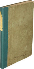 Books:Travels & Voyages, Overton Johnson, and W[illia]m H. Winter. Route Across the Rocky Mountains, With a Description of Oregon and Calif...