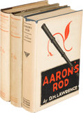 Books:Literature 1900-up, D. H. Lawrence. Three Titles by D. H. Lawrence, including:...(Total: 3 Items)