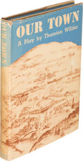 Books:Literature 1900-up, Thornton Wilder. Our Town. A Play in Three Acts. New York:Coward McCann, Inc., [1938]. First edition. Inscribed b...