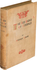 Books:Literature Pre-1900, Stephen Crane. The Red Badge of Courage. New York: Appleton,1895. ...