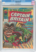 Magazines:Superhero, Captain Britain (Magazine) #9 (Marvel, 1976) CGC NM- 9.2 Off-whiteto white pages....