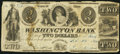 Obsoletes By State:Ohio, Miamisburg, OH- The Washington Social Library Company at theWashington Bank $2 Feb. 1, 1840. ...