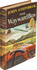 Books:Literature 1900-up, John Steinbeck. The Wayward Bus. New York: The Viking Press,1947. First edition, inscribed and signed by Steinbec...