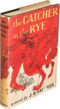 Books:Literature 1900-up, J. D. Salinger. The Catcher in the Rye. Boston: Little,Brown and Company, [1951]. First edition....
