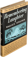 Books:Literature 1900-up, Wallace Stegner. Remembering Laughter. Boston: Little,Brown, and Company, 1937. First edition. Presentation copy, ...