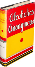 Books:Americana & American History, [Alcoholics Anonymous]. Alcoholics Anonymous. The Storyof How Many Thousands of Men and Women Have Recovered ...