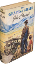 Books:Literature 1900-up, John Steinbeck. The Grapes of Wrath. New York: The Viking Press, [1939]. First edition....