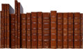 Books:Literature Pre-1900, Ralph Waldo Emerson. Group of Eighteen Uniformly Bound FirstEditions. Boston: 1837-1878. Titles include: ... (Total: 18 Items)