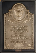 Boxing Collectibles:Autographs, 1965 Edward J. Neil Memorial Award Presented to Cassius Clay (Muhammad Ali)....