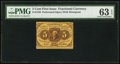 Fractional Currency:First Issue, Fr. 1228 5¢ First Issue PMG Choice Uncirculated 63 EPQ.. ...