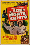 "Movie Posters:Adventure, The Son of Monte Cristo & Other Lot (Eagle Lion, R-1948). OneSheets (2) (27"" X 41""). Adventure.. ... (Total: 2 Items)"