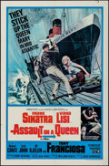 "Movie Posters:Crime, Assault on a Queen & Other Lot (Paramount, 1966). One Sheet (2)(27"" X 41""). Crime.. ... (Total: 2 Items)"