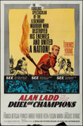 """Movie Posters:Action, Duel of Champions (Medallion, 1964). One Sheet (27"""" X 41"""").Action.. ..."""