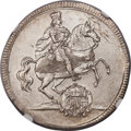 German States:Saxony, German States: Saxony. Friedrich August I Vicariat 1/2 Taler 1711-ILH MS62 NGC,...