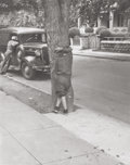 Photographs, Helen Levitt (American, 1913-2009). Brooklyn, circa 1939.Gelatin silver. 3-1/8 x 2-1/2 inches (7.9 x 6.4 cm). Signed an...