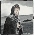 Photographs, Phil Borges (American, b. 1942). Chamdu II, Tso Morari, Ladakh, 1994. Gelatin silver, masked, bleached, and toned. 9 x 8...