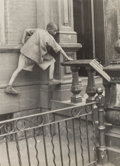 Photographs:Gelatin Silver, Helen Levitt (American, 1913-2009). Harlem, circa 1940.Gelatin silver. 3 x 2-1/4 inches (7.6 x 5.7 cm). Signed and titl...
