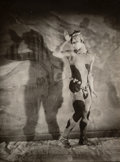 Photographs, Karl Struss (American, 1886-1981). Portrait of Nijinsky in Afternoon of a Faun, circa 1912. Gelatin silver. 5-1/4 x 4 in...