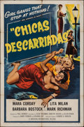 "Movie Posters:Bad Girl, Girls on the Loose (Universal International, 1958). U.S. One Sheetw/ Spanish titles (27"" X 41""). Bad Girl.. ..."