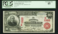 National Bank Notes:Pennsylvania, Allentown, PA - $10 1902 Red Seal Fr. 613 The Allentown NB Ch. #(E)1322. ...