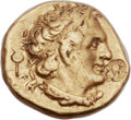 Ancients:Greek, Ancients: PTOLEMAIC EGYPT. Ptolemy I Soter, as King (305-281 BC).AV third chryson or hemidrachm (10mm, 1.78 gm, 12h)....