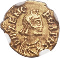 Ancients:Roman Imperial, Ancients: POST-ROMAN ITALY. Odovacer (AD 476-493). AV tremissis(13mm, 1.44 gm, 6h)....