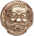 Ancients:Greek, Ancients: IONIA. Phocaea. Ca. 521-478 BC. EL sixth stater or hecte(10mm, 2.54 gm)....