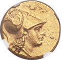 Ancients:Greek, Ancients: MACEDONIAN KINGDOM. Alexander III the Great (336-323 BC). AV stater (19mm, 8.60 gm, 1h)....
