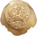 Ancients:Byzantine, Ancients: Nicephorus III Botaniates (1078-1081). EL histamenonnomisma (28mm, 4.35 gm, 6h)...