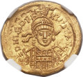 Ancients:Roman Imperial, Ancients: Leo I the Great, Eastern Roman Emperor (AD 457-474). AVsolidus (21mm, 4.47 gm, 6h)....