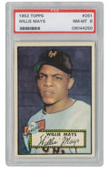 Baseball Collectibles:Others, 1952 Topps Willie Mays #261 PSA NM-MT 8. The all-important rookiecard from the National League Rookie of the Year. Over 7...