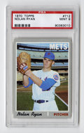 Baseball Cards:Singles (1970-Now), 1970 Topps Nolan Ryan #712 PSA Mint 9. After the Mets' amazin' 1969season, this card was a favorite among young collectors...