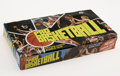 Basketball Collectibles:Others, 1976-77 Topps Basketball Wax Box. Direct from the year of ournation's bicentennial comes this lonely wax box, never having...