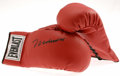Boxing Collectibles:Autographs, Muhammad Ali Signed Boxing Glove. One Everlast glove from thismatched pair is signed in perfect black sharpie by the Great...
