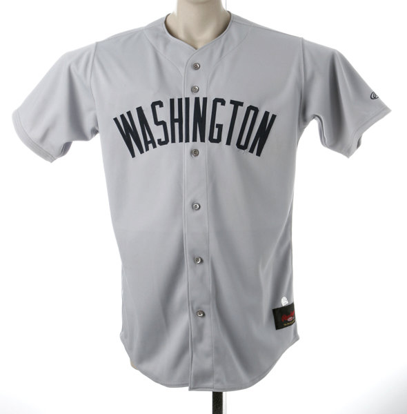 wholesale dealer 4c5da 8b9ae Game Issued Washington Nationals Jersey. 100% polyester size ...